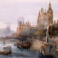 Morning mist, Westminster. Killens-4
