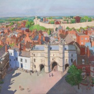TobyWard-LincolnPanorama_Castle