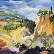 Winchester 4 Rousillon's ochre cliffs