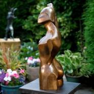002: Ballet dancer stretching 2 (bronze), 56 x 26cm, £2950