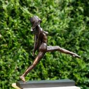 003: Leap for joy (bronze), 40 x 40cm, £1540