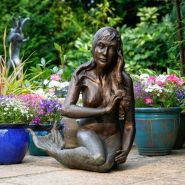 005: Little mermaid (bronze), 65 x 50cm, £1050