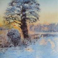003: March snow (mono print), 44 x 34cm, £295