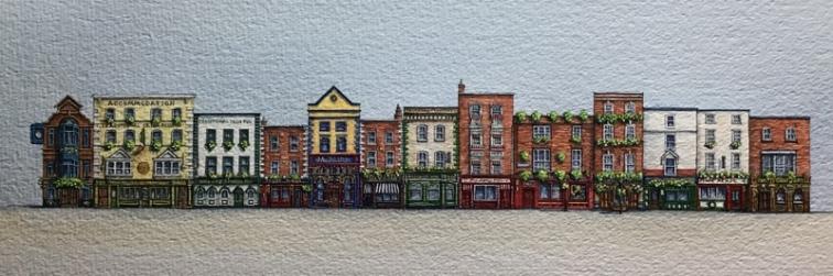 E Gill Dublin Pubs