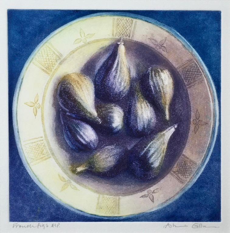 Graham_KPG_French figs_Etching with aquatint A_P_38x39x1cm_£180