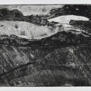005: Pilgrim's Way, edition of 25 (etching), 15 x 10cm, framed, £49