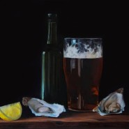 005: Ale and oysters (limited edition print), 40.5 x 30.5cm, £95 (SOLD - MORE AVAILABLE)