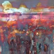 004: Sunset digital (mixed media print), 67 x 67cm, unframed, £230