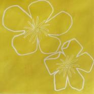 002: Buttercups (linoprint), 24 x 24cm, £70