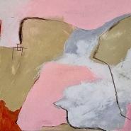 004: Dilemma (acrylic), 50 x 50cm, on box (deep edge) canvas, £275