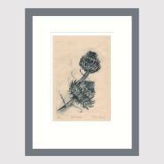 003: Artichokel, edition 4 of 20 (drypoint), 142 x 208mm, unframed, £105